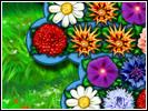 Скриншот игры - Цветочная История
