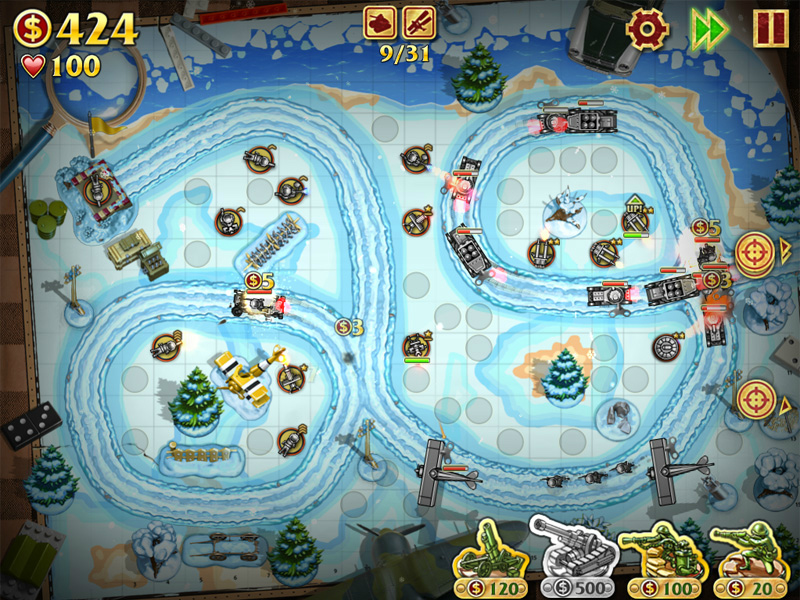 Скриншоты игры солдатики