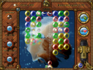 Скриншот игры - Пузырьки. В погоне за сокровищами Весёлого Роджера