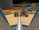 Скриншот игры - Война в коробке. Бумажные танки