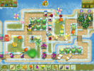 Скриншот игры - Защитники сада. Новогодний переполох