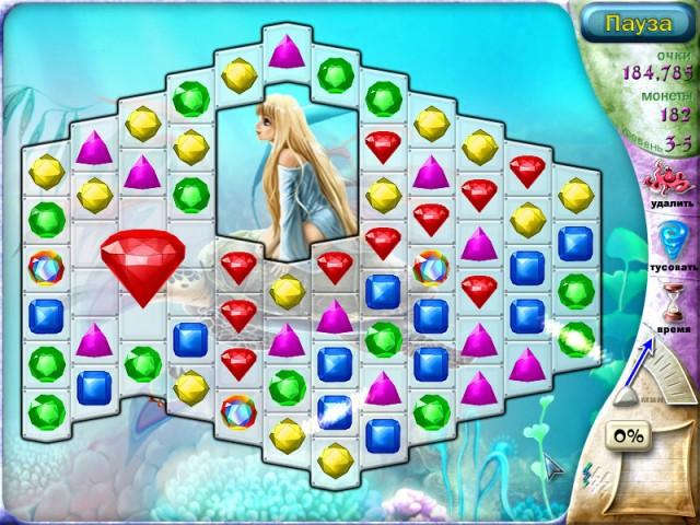 Скриншот к игре Зачарованная. Тайный Договор. информация о сайте мини игр