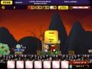 Скриншот игры - Небесное такси. Спасение Принцессы