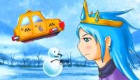 Игра Небесное такси 7. Ледяное царство