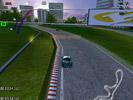 Скриншот игры - Гонки. Опасный поворот