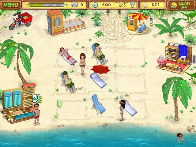 Скриншоты игры пляжный переполох