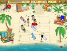 Скриншот игры - Пляжный Переполох