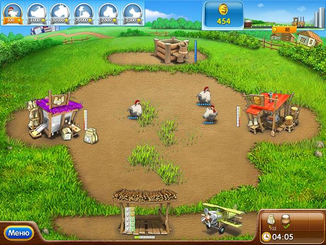 Игра в веселую ферму ледниковый период