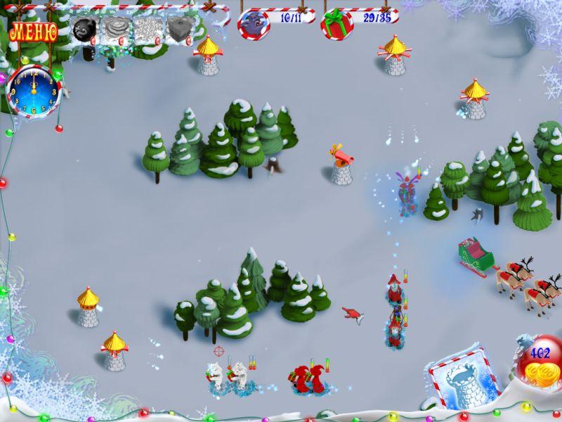 Скриншоты игры новогодний переполох