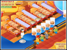 Скриншот игры - Мастер Бургер
