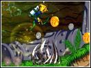 Скриншот игры - Приключения Кенни